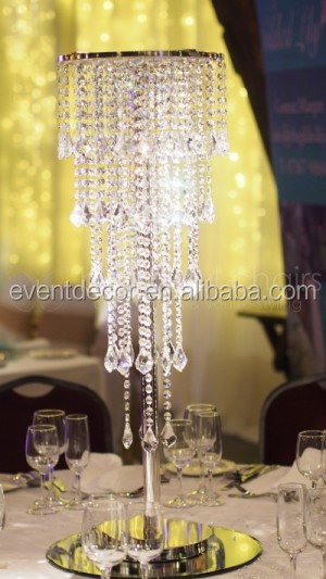 Wedding crystal chandelier centerpieces table chandeliers for Chandelier centre de table