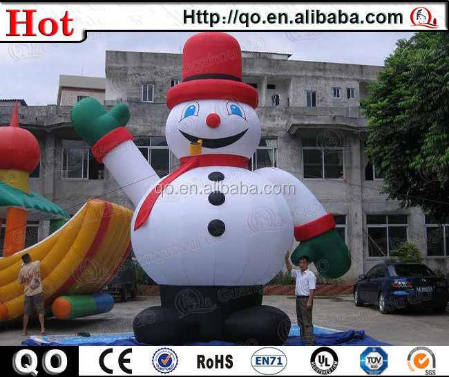 Popular outdoor beautiful inflatable abominable snowman for Abominable snowman outdoor christmas decoration