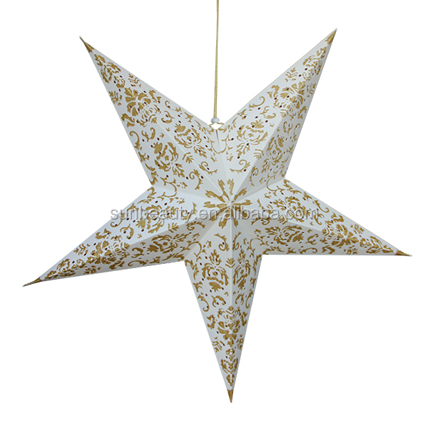 sunbeauty christmas tree decoration origami star paper