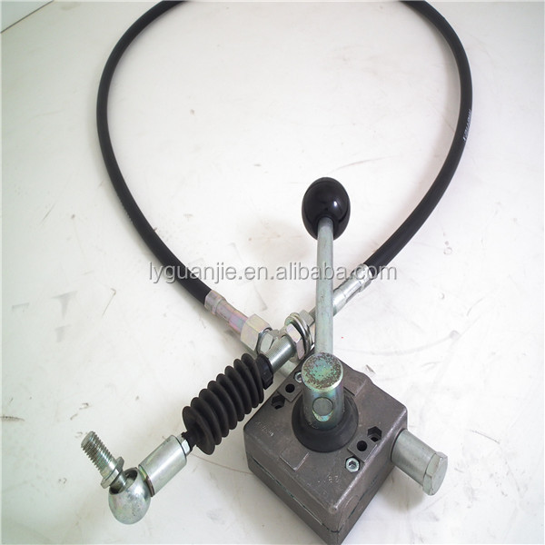 Control Cable Lever : Gj b bomag rollers throttle control lever with cable