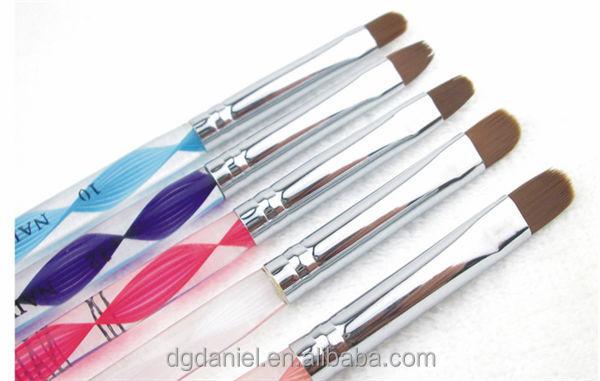 1pcs Black wooden handle Cosmetic Nail Brush,makeup brush,cosmetic brush,nail art brush