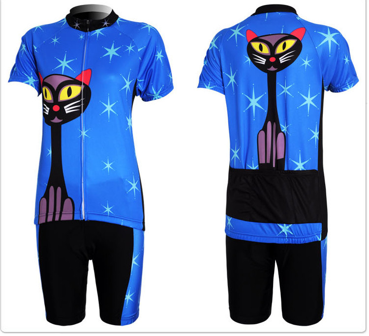 Женский костюм для велоспорта + CAT 0589