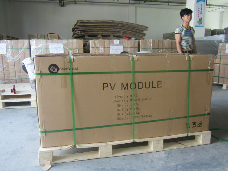 Poly silicon pv module 300W solar panel