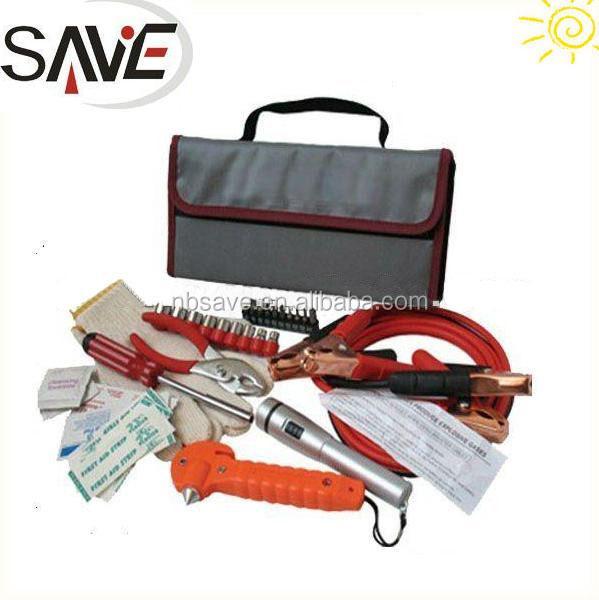 36 pcs Auto Emergency Tools Kit with Emergency Hammer
