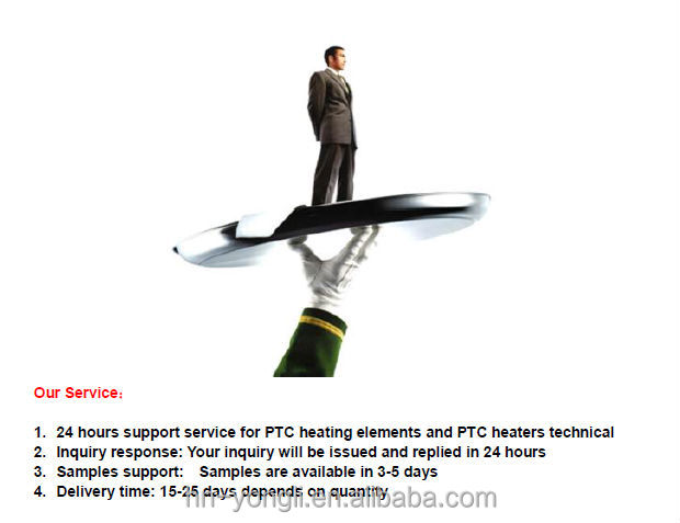 PTC Electric Heating Elements for Fan Heater