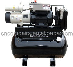 Compresseur d 39 air rotatif palettes coulissantes - Compresseur d air silencieux ...