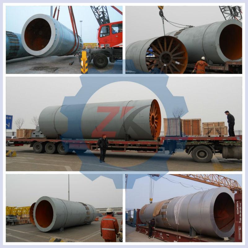 Cement Kiln Clinkers : High efficiency rotary kiln calcined bauxite clinker
