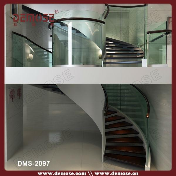 Marinheiro degraus de escadas de madeira de vidro tampas - Escaleras de casas de lujo ...
