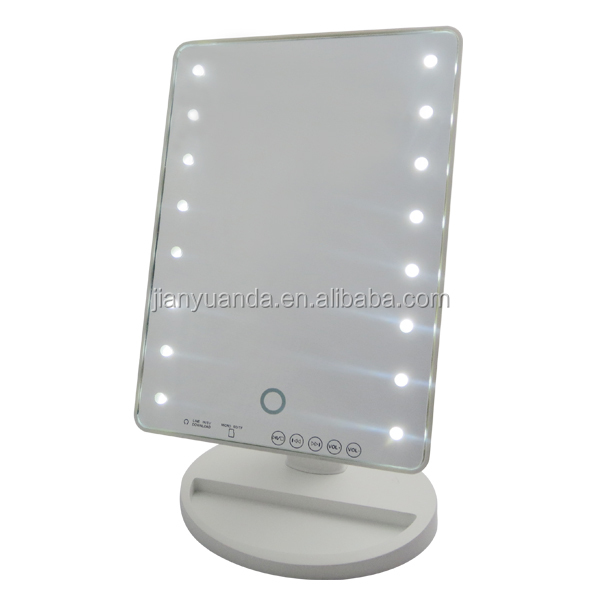 Led light moderm dressing table mirror/ plastic dressing table mirror ...