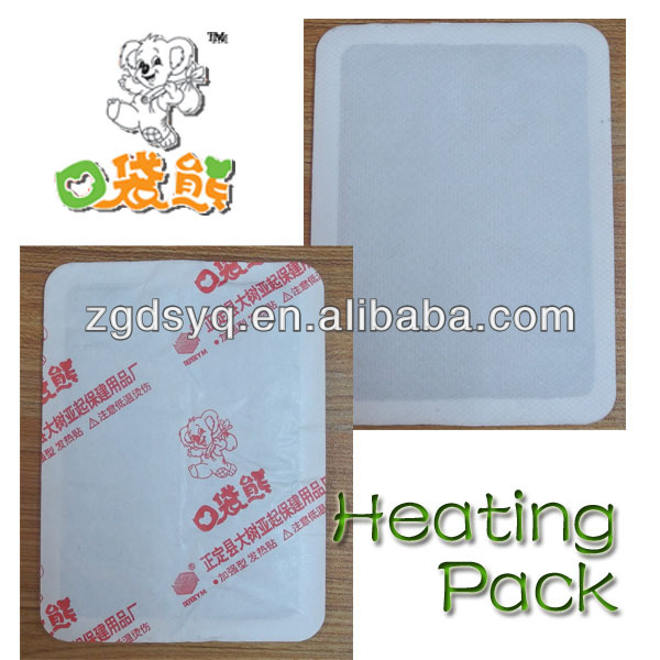 la main chaude de poudre de fer pad thermique chaud pack