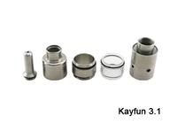 Нержавеющая сталь комплект электронных сигарет kayfun 3.1 Атомайзер Картомайзер мод восстановление российского тайтла Клиромайзер ta012