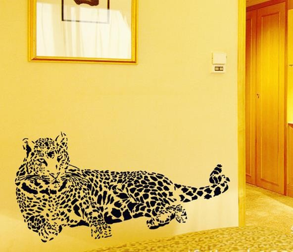 Leopard Home Decor Removable Wall Sticker Decal Decoration