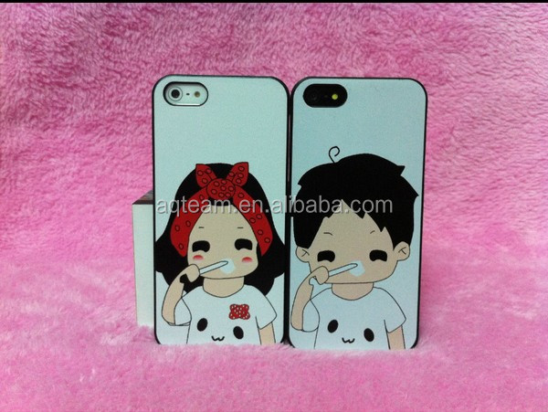 Sweet Lovers hard PC case For iphone 5