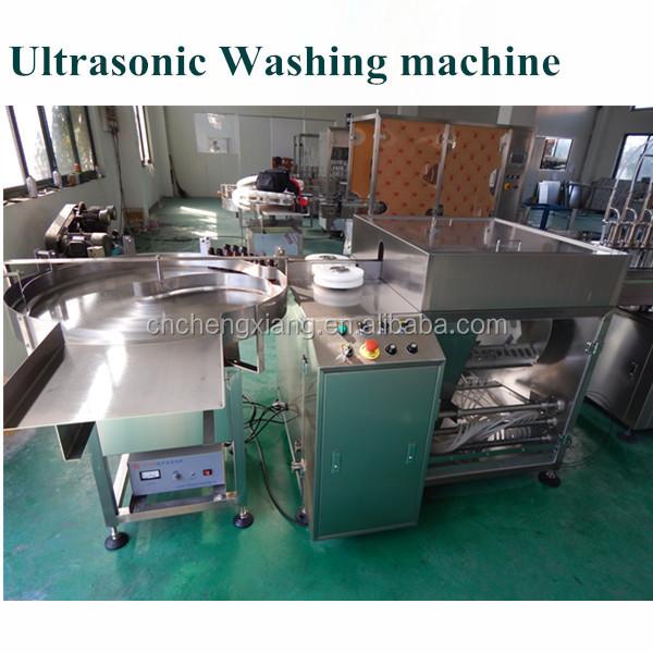 automatic high speed bottle washing machine