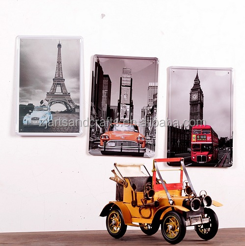 Waste material art craft antique model car for home for Craft model with waste material