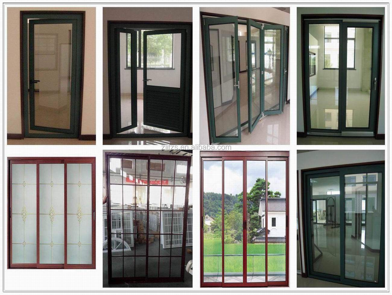 #618249 Exterior Portas de Correr de alumínio made in China porta da varanda  798 Limpar Janela Aluminio Encardida