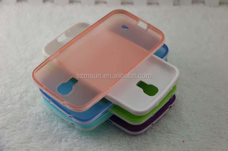 Wholesales newest TPU Case for SAM S2/S3/S4. case mobile accessory (S4-D103)