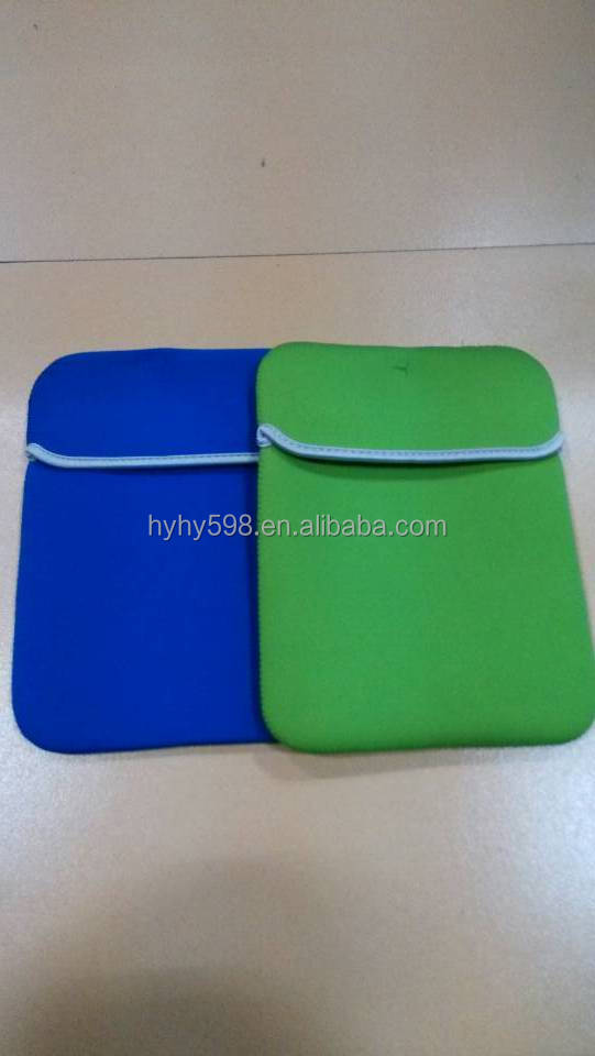 #14051405 fancy green neoprene case for Ipad bag