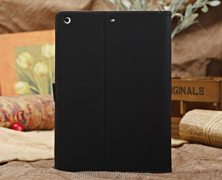 Luxury Retro Leather Smart Case Stand for ipad 4 case