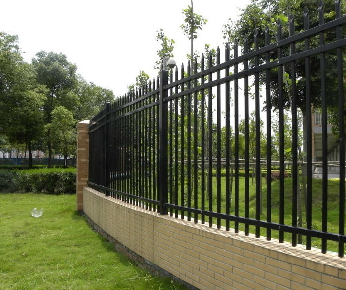 Wrought iron fence panels decorative clear