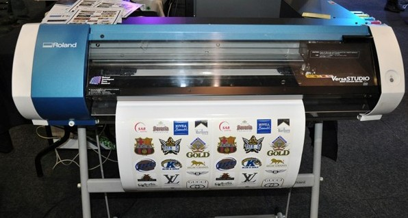 Small Size Pu Flex Vinyl Printing And Cutting Roland