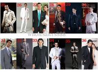 Новый стиль жениха смокинг жениха насекают воротник мужчин Свадебные suitsm91
