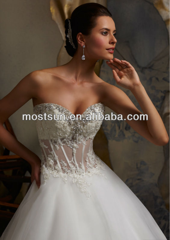 See thru corset wedding dresses images for See through corset wedding dresses