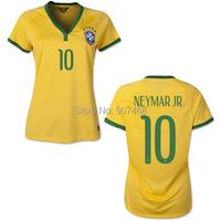Футбольная форма для девушек  2014 World Cup brasil home