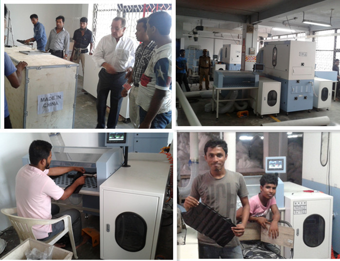 Our machine used in Bangladesh.