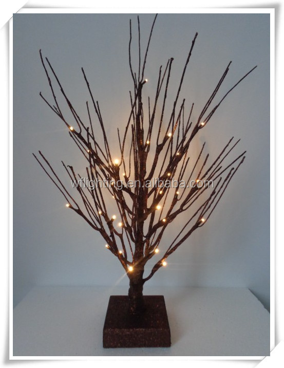 Christmas Decor Glitter Artificial Tree Branch Buy