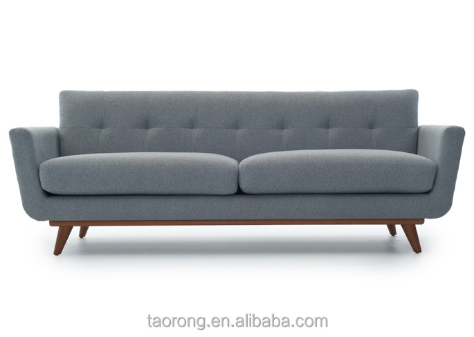 Modern grey fabric buttoned Luxury sofa SO-02014-15