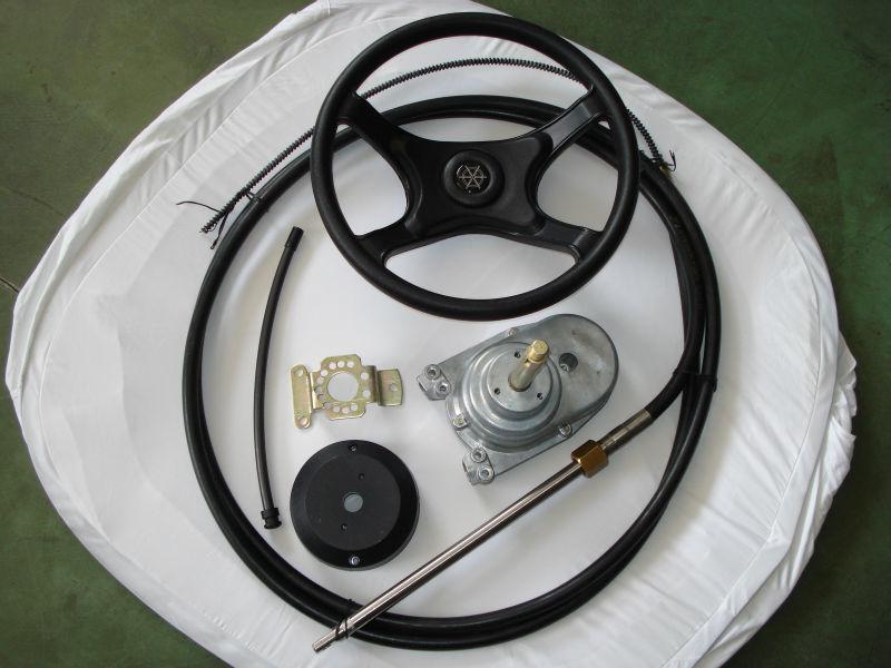 Wholewin YK7 Motor Boat Steering System marine equipment helm