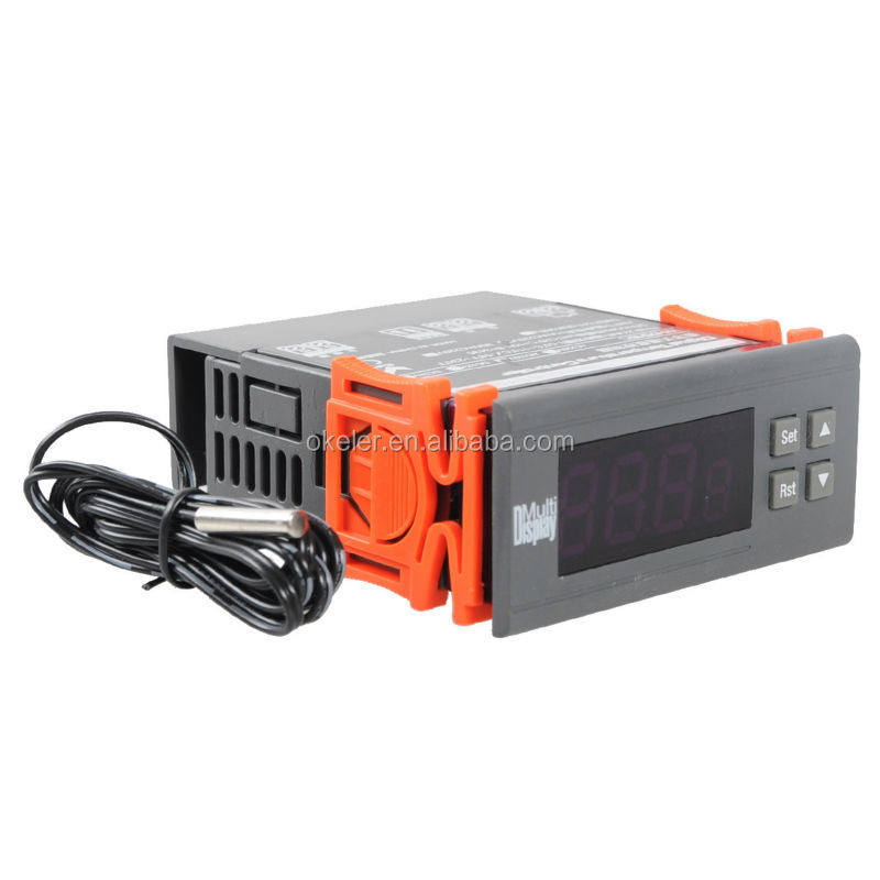 Wh7016 Ac 110v Digital Temperature Temp Controller Incubation Thermostat Sensor