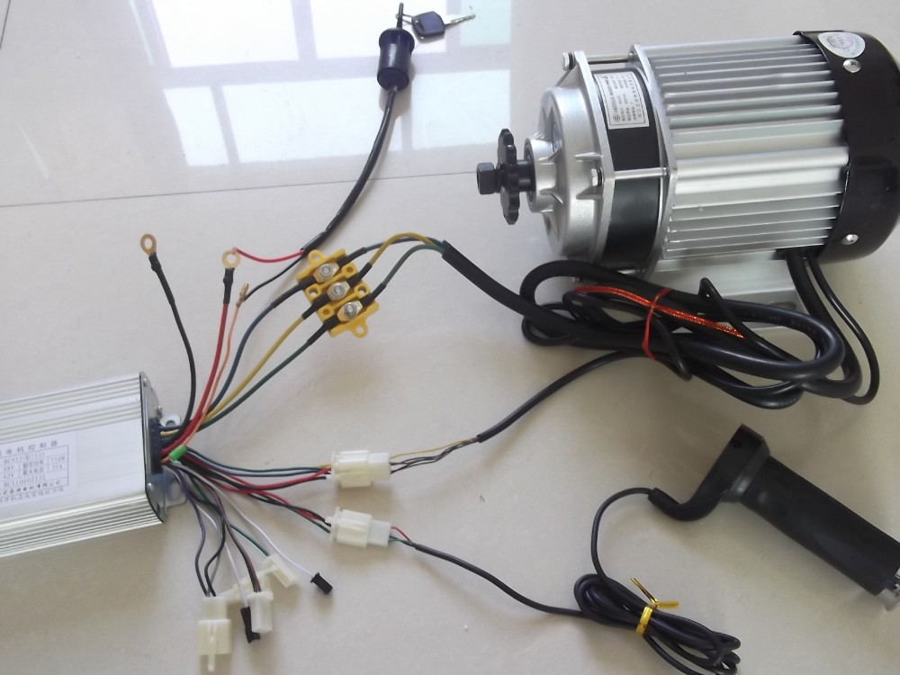 Electric Bicycle Brushless Tricycle Motor 48v 500w Kuala