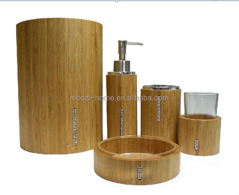 houten bad, spa sets, bamboe Badkamer Accessoires badkamer sets product ID 1849884816 dutch