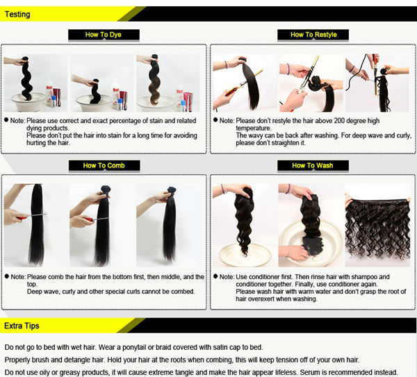 Livraison gratuite prêtjp cheveux 12 14 16 pouces. 5a 100% naturelles de cheveux humains indiens