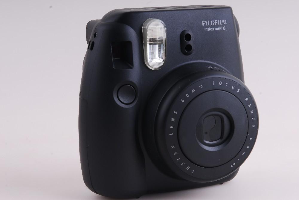 фотоаппарат пленочный Fujifilm Instax Mini 8 Polaroid + 3 Instax Mini Instax mini 8 Black