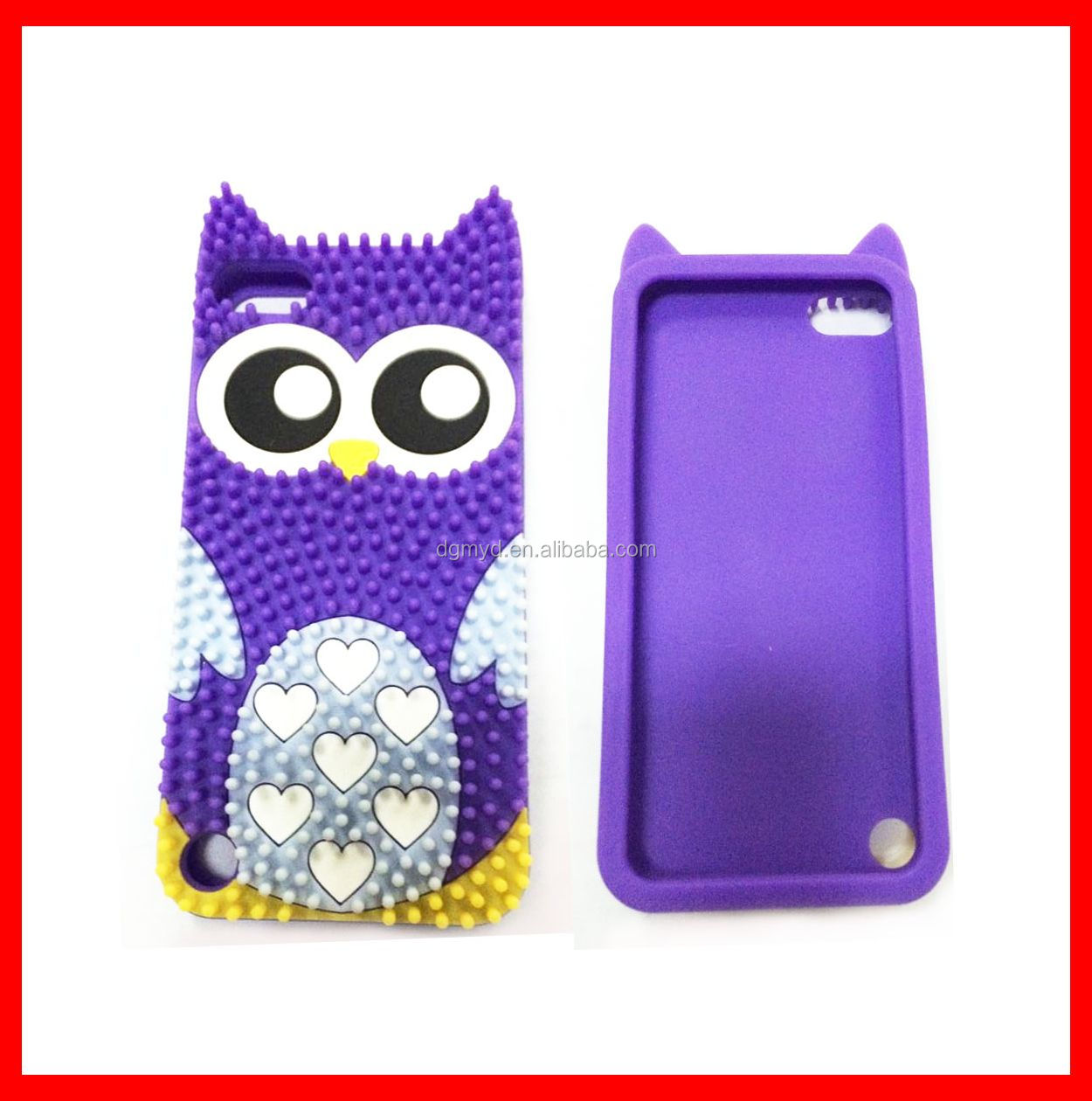 2014 Newest Cartoon Silicone Phone Case With Eye For iphone case