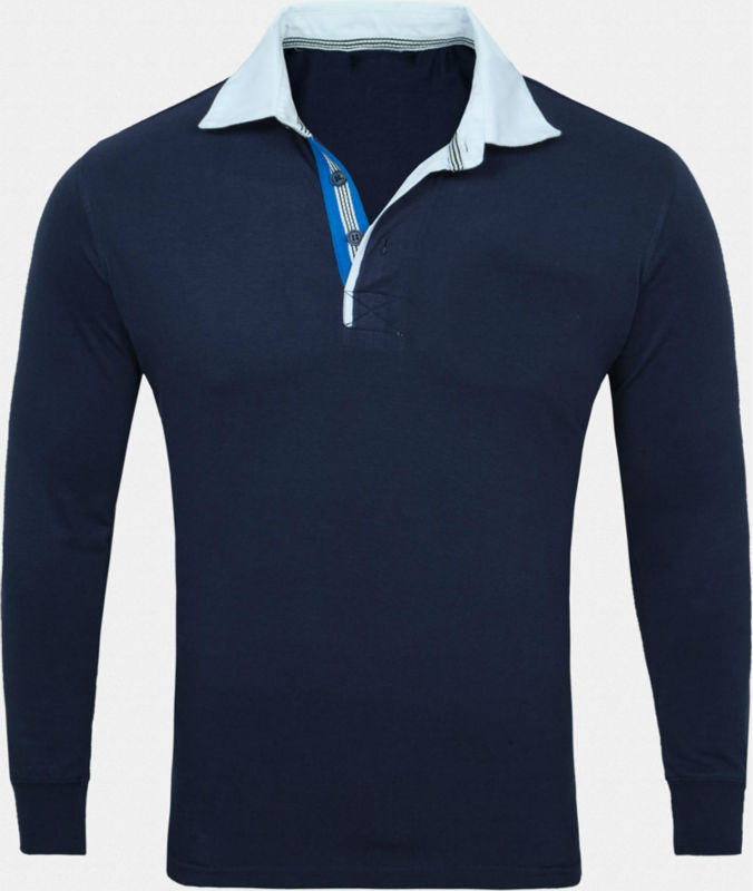 Design Your Own Polo Shirt For Mens Long Sleeves Plain