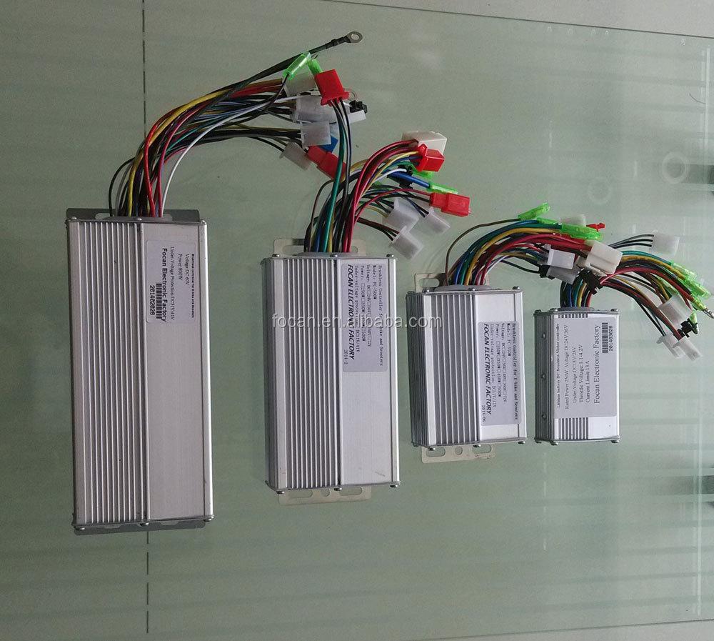 24v 350w 6 Intelligent Brushless Dc Motor Speed Controller For ...