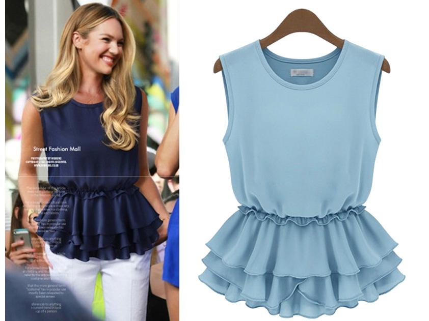 Модные Блузки Лето 2014 В Красноярске