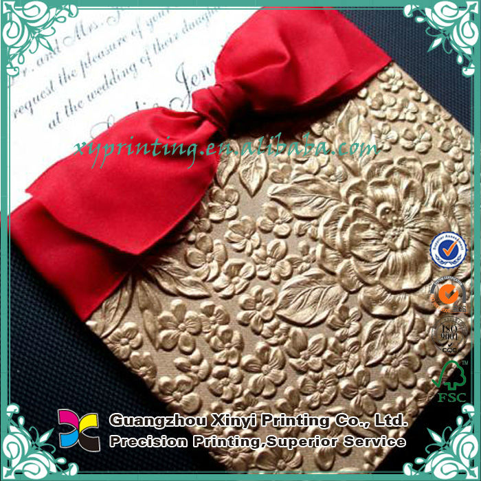 Paper Printing Custom Design Bengali Wedding Invitation Card - Buy ...