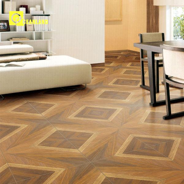 2014 New Design Ceramic Wood Deck Floor Tile Patterns