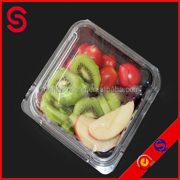 PET fresh strawberry plastic container/ blister packaging for fruit