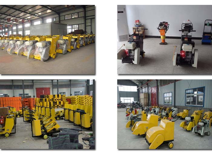 Electric gasoline concrete road cutter,asphalt road cutter in the road maintence project