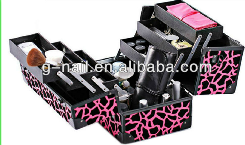 Rosepink Professional Beauty Box Trolley Cosmetic Case Beauty Box