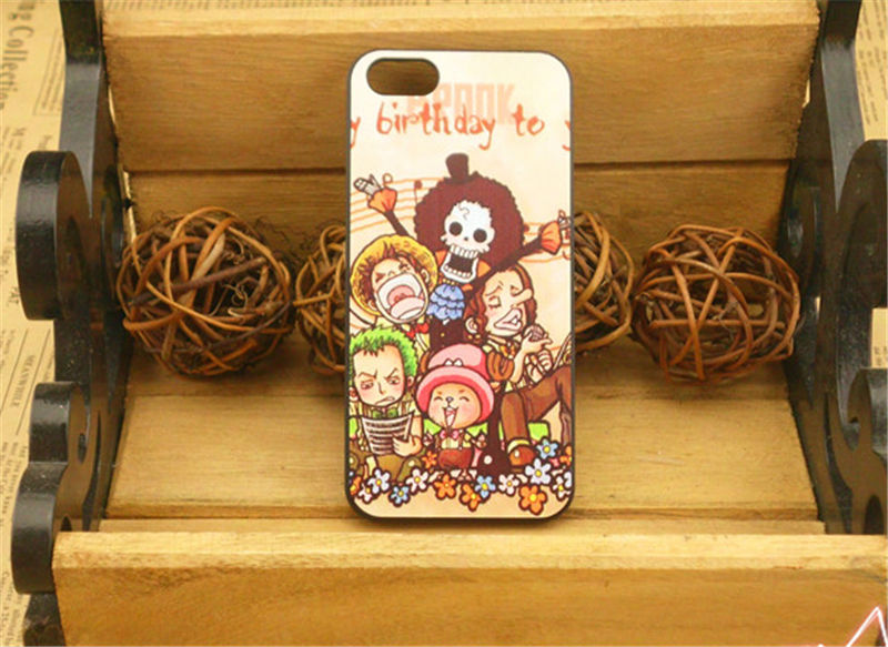 One Piece Cell Phone Case Cartoon Cell Phone Case