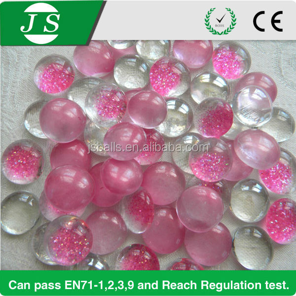 Wholesale Colored Sea Glass Pebbles For Home Decoration And Vase