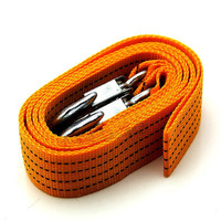 3 Tons Tow Cable Towing Rope with Hooks for Heavy Duty Car Emergency