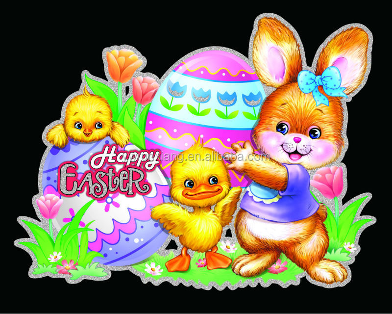 Happy Wednesday Glitter Quot Happy Easter Quot Glitter Letters